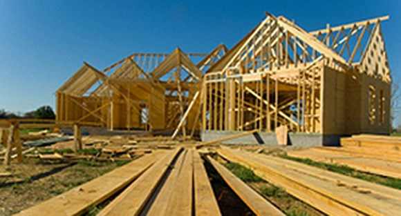 Lumber stocks go up as new houses do.